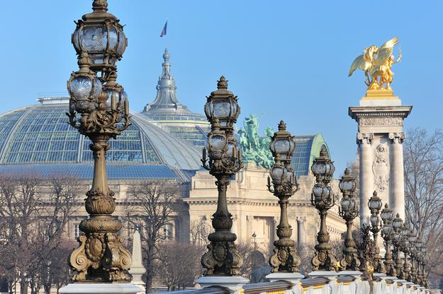 The Grand Palais seen from Pont Alexandre III