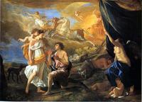 Nicolas Poussin, Diane et Endymion, 1630.