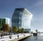 Rendering of the new Munch Museum set to open on Oslo's waterfront.