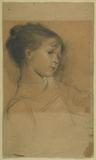"A drawing by Gustav Klimt's is to be offered by Emanuel Von Baeyer during London Art Week in June.  Art historians believe that the drawing of a young girl, referred to as 'Annerl', is of Klimt's little sister, Anna, who had died 10 years previously.  The drawing is believed to have been drawn after a photograph and is the main drawing used for the motif of the young girl in ""Dance"" in the ceiling painting of the auditorium of the Municipal Theatre in Karlsbad (Karoly Vary).  The drawing will be"