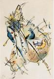 Kandinsky, Untitled 1918, image courtesy Keitelman Gallery, Brussels