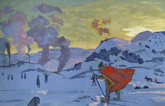 Nikolai Roerich, 'Signal Fires of Peace' sold for £1,426,500