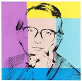 Andy Warhol, Portrait of Karl Ludwig Schweisfurth.  1980.  Oil and silkscreen on canvas, 102 x 101,5 cm (40.1 x 39.9 in) Estimate: € 80.000-100.000