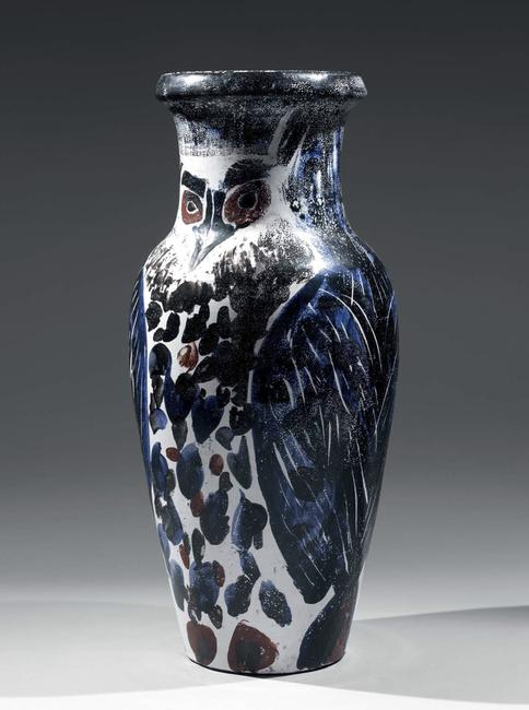 "Picasso ""Owl"" vase, AVENUE SHOWS ANTIQUES, ART & DESIGN AT THE ARMORY, Sept.  22-25, 2011."