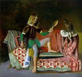 "Balthus' ""The Cat With Mirror III,"" which was appraised at $5 million."