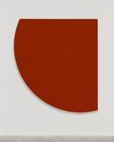 Ellsworth Kelly, Dark Red Curve, 1999, Oil on canvas, 72 x 64 1/2 inches; 183 x 164 cm
