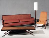 Selection of Vladimir Kagan Furnishings (Est range: $1,000-$6,000)