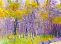 Wolf Kahn, Woods in a Breeze