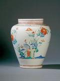 Kakiemon porcelain jar, 17th century