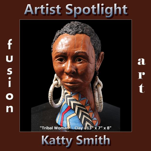 Katty Smith - Fusion Art's 3-Dimensional Artist Spotlight Winner for November 2018 www.fusionartps.com