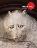 Cover of the new catalog from Allan Katz Americana.  Shown is a detail of a California Golden Grizzly Bear, carved and painted redwood and oak, circa 1885.