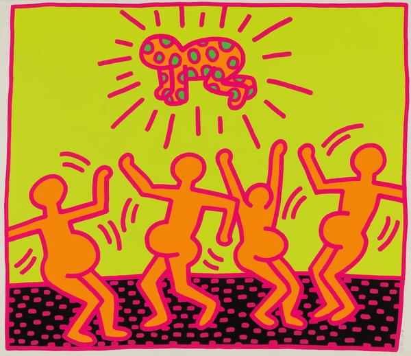 Keith Haring The Fertility Suite, 1983 Estimate: $180,000-250,000