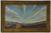 Vermont Hills by Rockwell Kent sold for $141,600 at Brunk Auctions on May 12.