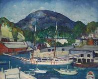 Leon Kroll (1884–1974), Rockport, Maine, oil on canvas, 26⅛ x 32 3/16 inches