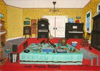 Music Room, Gayleen Aiken,1960