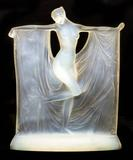 This stunning Rene Lalique glass statuette from the 1920s will be auctioned October 27th.