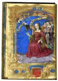The Offering of the Book to Anne de Graville Berosus (fl.  300 B.C.), Chaldean History In French, illuminated manuscript on parchment France, Paris, 1505-6 One full-page miniature by Jean Pichore; genealogical tables in color