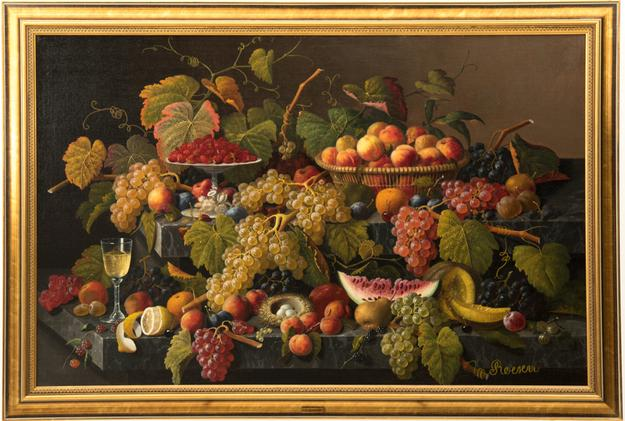 Lot 1 - Still Life by Severin Roesen