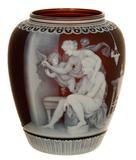 This museum-quality, finely carved English cameo art glass vase by Thomas Webb sold for $260,000 on May 29th by Woody Auction.