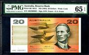 This Commonwealth of Australia Reserve Bank, ND (1984) banknote is expected to fetch $5,000-$10,000.