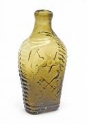 The top lot of the auction was this rare Masonic historical flask, made circa 1820-1830, that sold for $56,160.