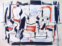 Arthur Pinajian [1914-1999] Untitled, No.4386, 1958