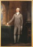 John Trumbull, 1756-1843 Portrait of Alexander Hamilton, 1792.  Oil on canvas.  86-1/4 x 57-1/2 in.  (219.1 x 146.1 cm)