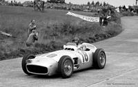 Bonhams will offer the 1954 2½-litre straight-8 Mercedes-Benz W196 einsitzer– chassis number '00006/54' – in which five-times World Champion Driver Juan Manuel Fangio won both the 1954 German and Swiss Grand Prix races