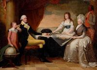 The Washington Family, by Edward Savage, 1798–1805.  Bequest of Henry Francis du Pont.  1961.708.