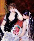 At the Concert by Pierre-Auguste Renoir, The Clark, Williamstown, MA