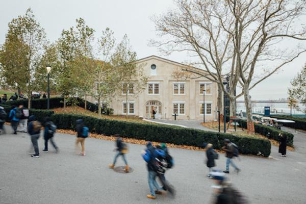In September 2019, the Lower Manhattan Cultural Council (LMCC) will open the newly renovated LMCC's Arts Center at Governors Island.