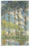 CLAUDE MONET (1840-1926) Les peupliers, oil on canvas, painted in 1891.  Estimate: $20,000,000-30,000,000