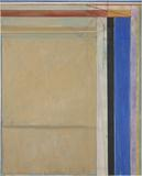 Richard Diebenkorn, Ocean Park #83, 1975.  Oil on canvas, 100 x 81 inches.  Corcoran Gallery of Art, Washington, DC.  Museum Purchase with the aid of funds from the National Endowment for the Arts, the William A.  Clark Fund, and Mary M.  Hitchcock 1975.30.  The Estate of Richard Diebenkorn