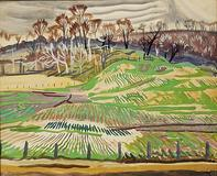 A Charles Burchfield work that DC Moore Gallery will be exhibiting at Booth 212.