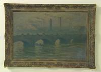 Claude Monet painting of Waterloo Bridge (1903).