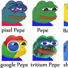 Pepes were featured in the first ever rare digital art auction.  The frog meme has been linked to the alt-right.