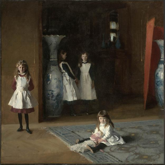 John Singer Sargent's The Daughters of Edward Darley Boit, 1882 (Museum of Fine Arts, Boston)