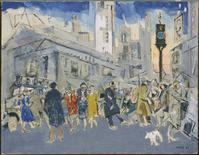 John Marin, Pertaining to Fifth Avenue and Forty-Second Street, 1933.  Oil on canvas, 28 x 36 in.  The Phillips Collection, Washington, DC.  Acquired 1937 © 2013 Estate of John Marin / Artists Rights Society (ARS), New York