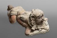 Crouching Jaguar Dancer.  Guatemala Register of Cultural Property No.1.2.1.299.