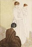 Mary Cassatt (1844–1926) The Fitting, 1890–91.