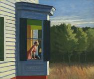 Edward Hopper's Cape Cod Morning (1950).