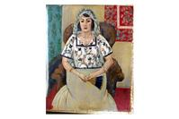 'Woman with a Fan' by Henri Matisse, found in Gurlitt's art hoard.
