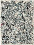 "Jackson Pollock's drip painting ""No.  19, 1948"" sold to an anonymous bidder for a record price of $58.3 million with fee at Christie's."