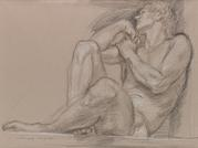 Important Late-Career Drawings by Paul Cadmus Featured in Swann Galleries Auction on June 13, 2013.