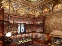 Morgan Library & Museum interior view.