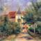 Renoir, La Maison d'Essoyes (1906).  Private Collection.
