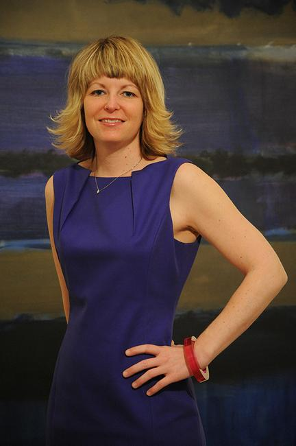 Photo of Amy Brandt by Kathy Keeney for the Chrysler Museum of Art, 2011