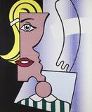 Roy Lichtenstein (1923-1997) 'Puzzle Portrait', 1978, Oil and magna on canvas, 72 in.  x 60 in.