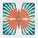 Judy Chicago, The Return of the Butterfly, from A Retrospective in a Box, 2012, Lithograph, New Mexico Museum of Art; museum purchase, 2013