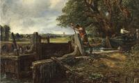 "John Constable's ""The Lock"" to be sold by Christie's in July."